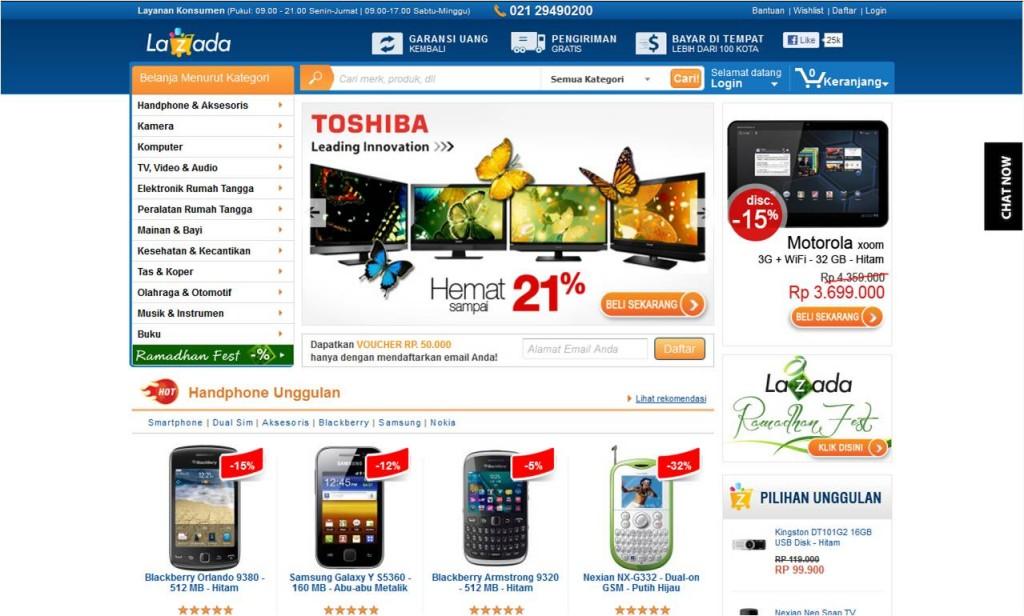 Toko Online Populer di Indonesia | luminouskying